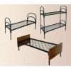 Металлические одноярусные кровати для больниц, кровати для гостиниц, дешево