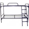Двухъярусные металлические кровати для строительных бытовок, кровати для турбазы, кровати для баз отдыха